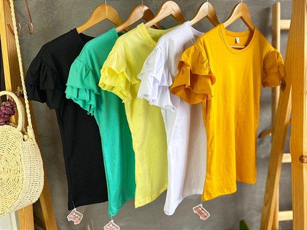 T-shirt Babado LOUISE