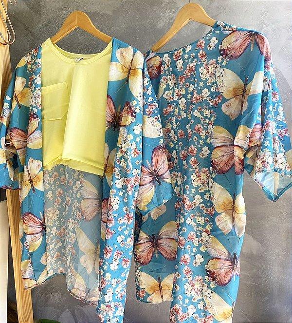 Kimono sweet garden