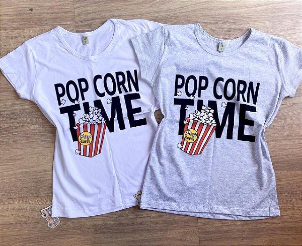 T-shirt POPCORN TIME