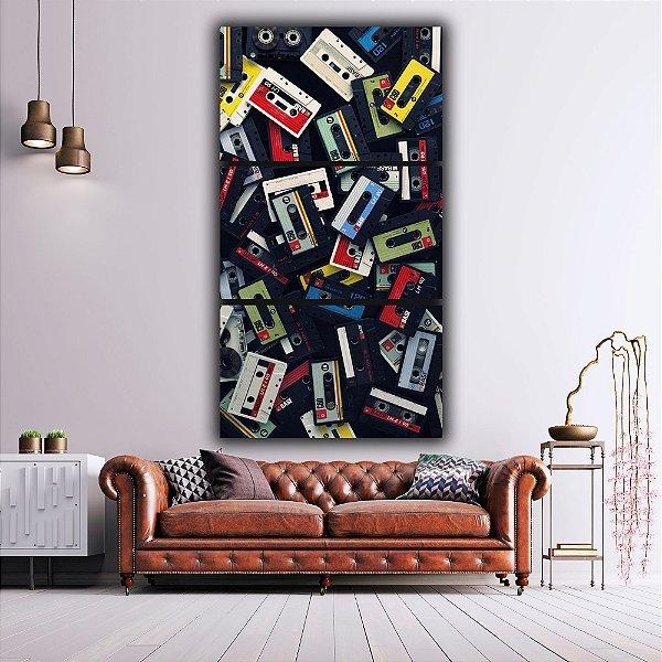 Fita cassete - 3 Canvas