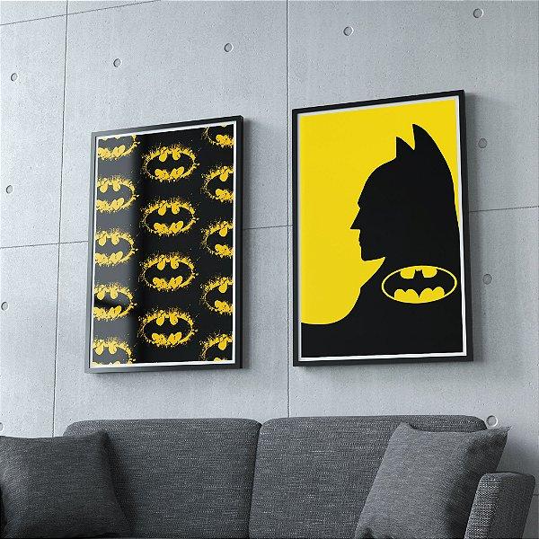 Batman - KIT 2 QUADROS