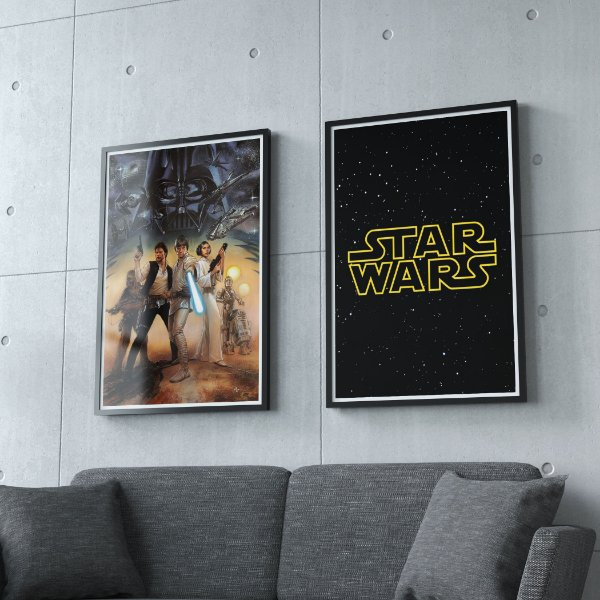 Star wars - KIT 2 QUADROS