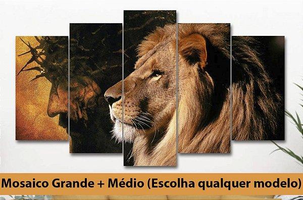 KIT 2 - Mosaico 5 telas Grande + Médio (Escolha qualquer modelo)