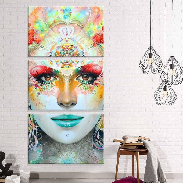 Ganesha - 3 telas canvas