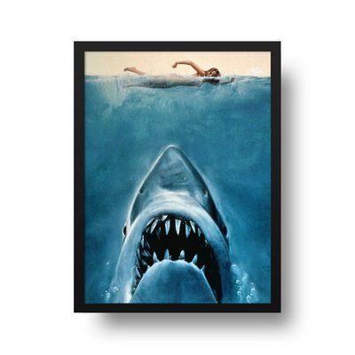 Tubarão - Emoldurado