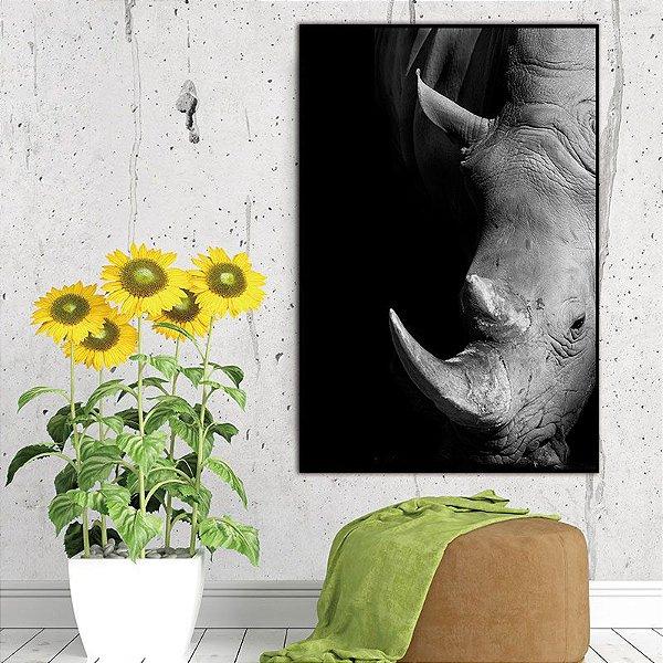 hipopótamo - Emoldurado