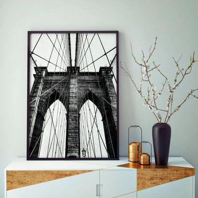 Brooklyn Bridge - Emoldurado