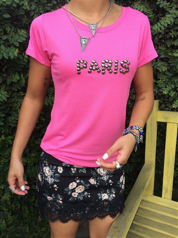 T-shirt PARIS + BORDADOS
