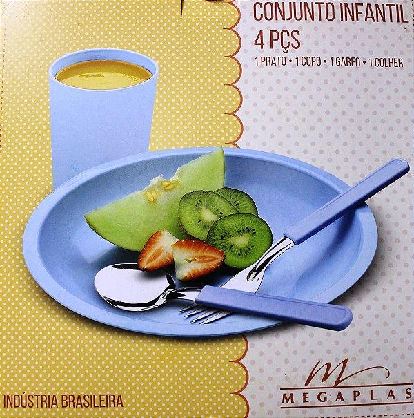 Prato Infantil 4 peças