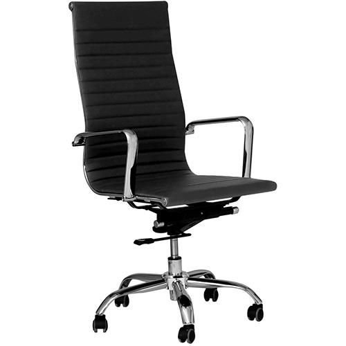 Cadeira Presidente Office Sevilha Alta Couríssimo Preto