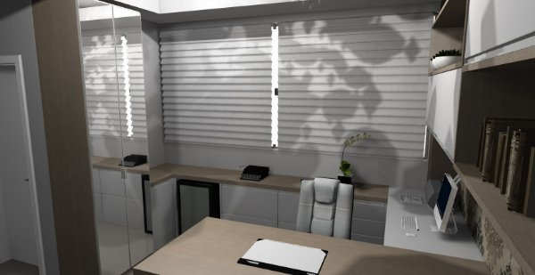 CASE - Pax Nacional - Cuiabá,MT | Projeto 3D - Planejados