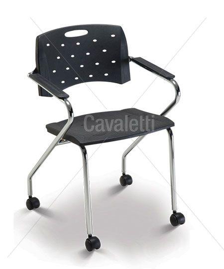 Cavaletti Viva - Cadeira Aproximação 35007 Z com rodízios