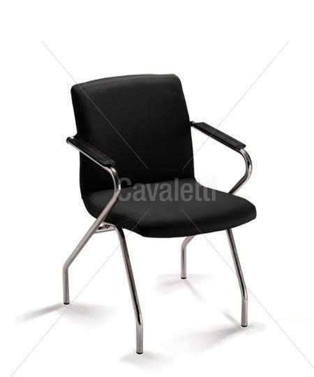 Cadeira Fixa Cavaletti Slim 18006 Z