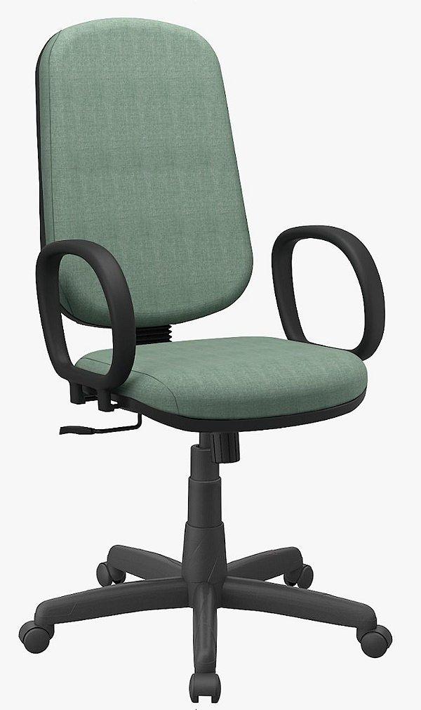 Cadeira Operativa Plus Presidente Braço Corsa Costura dupla lateral