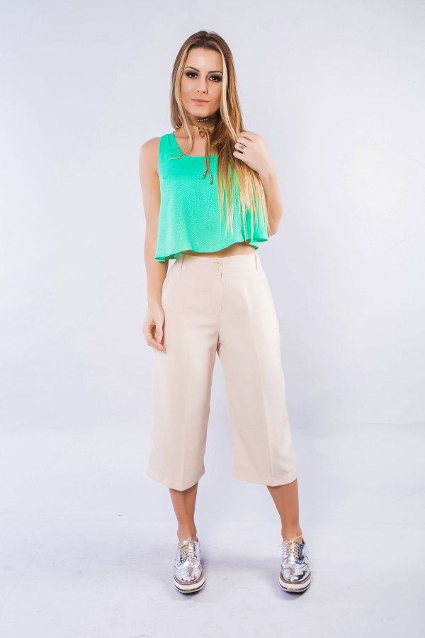 Cropped Regata Verde