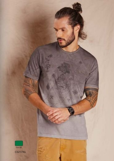 Camiseta Manga Curta Balance