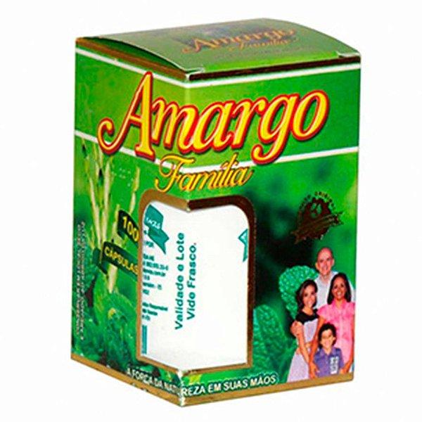 Amargo Família - 100 Cápsulas - NaturalErvas