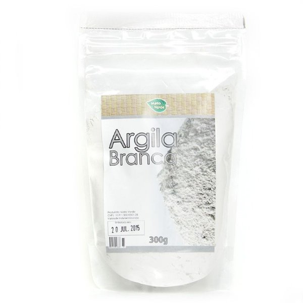 Argila Branca - 300g - MatoVerde
