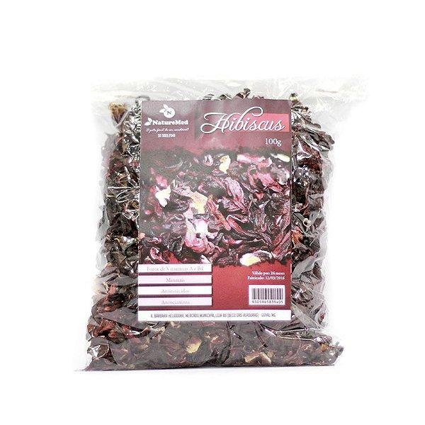 Chá de Hibisco - 100g - Naturemed