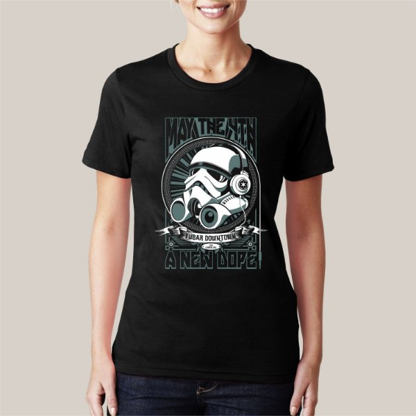 camiseta TROOPER HEADPHONE