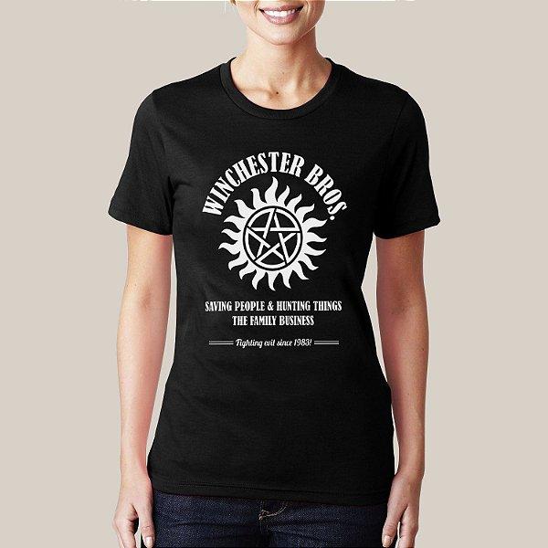 camiseta Winchester Bros