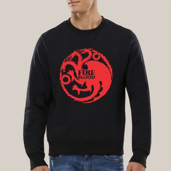 Moletom Fire and Blood