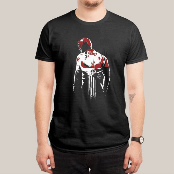 Camiseta Demolidor Justiceiro