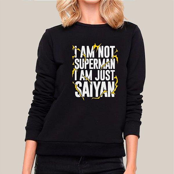 Moletom I'am Just Saiyan