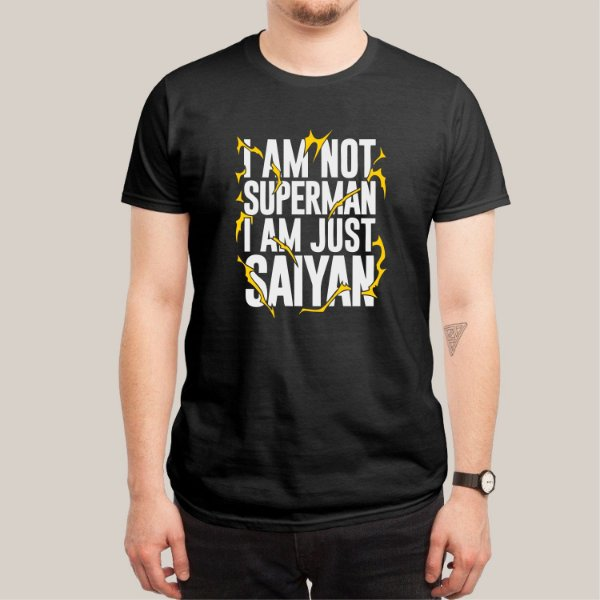 Camiseta I'am Just Saiyan
