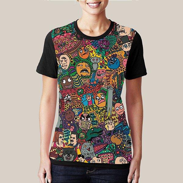 Camiseta Memes Color