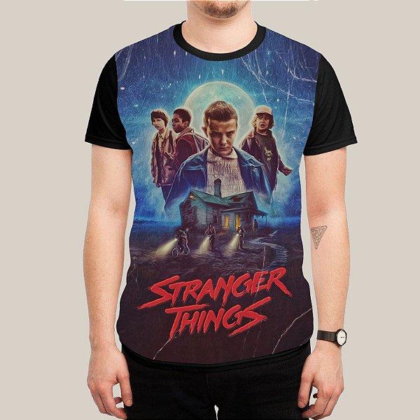 Camiseta Stranger Things Vintage