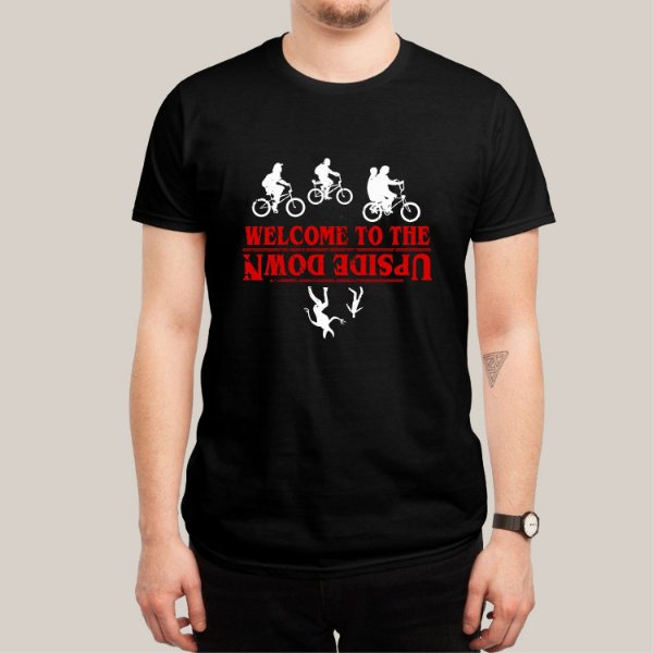 Camiseta Welcome to the Upside Down