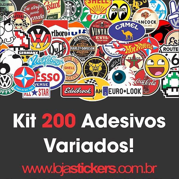 Kit 200 unidades Variados