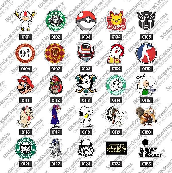 Adesivos Personagens 5