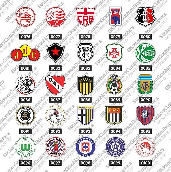 Adesivos Futebol 4