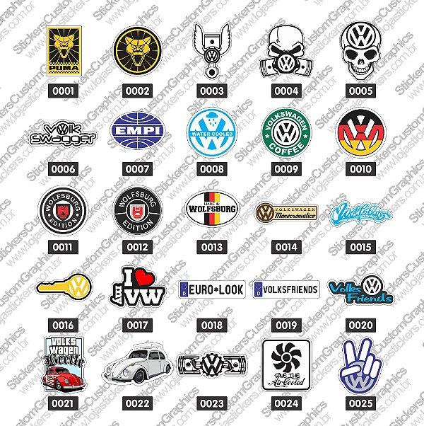 Adesivos Marcas de Carros 1