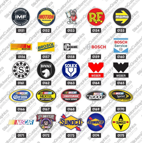 Adesivos Brands & Customs 7