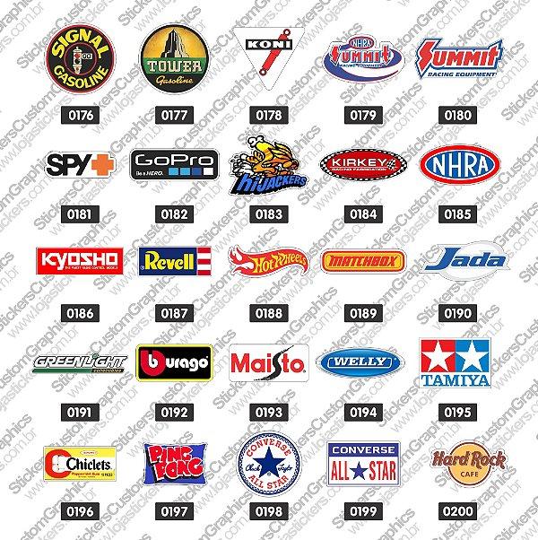 Adesivos Brands & Customs 8