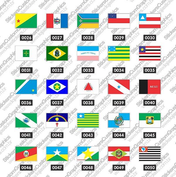 Adesivos Bandeira 2