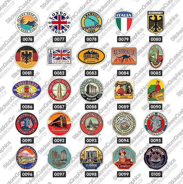 Adesivos Bandeiras 4