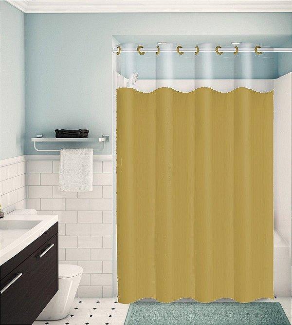 Cortina para Box de Banheiro Monocolors – Castor