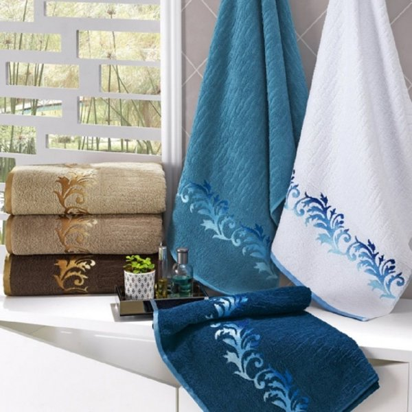 Toalha de Banho Eden - Azul