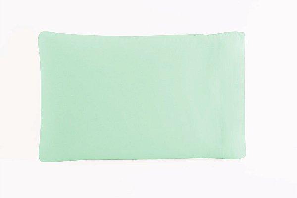 Fronha Avulsa 50 x 70 cm em Percal 150 Fios 100% Algodão - Verde