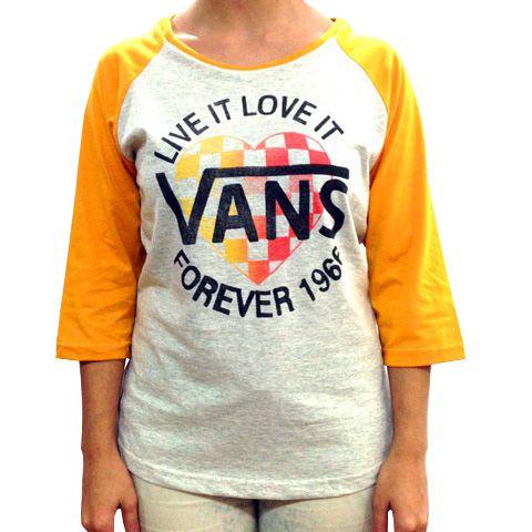 Camiseta Feminina Vans