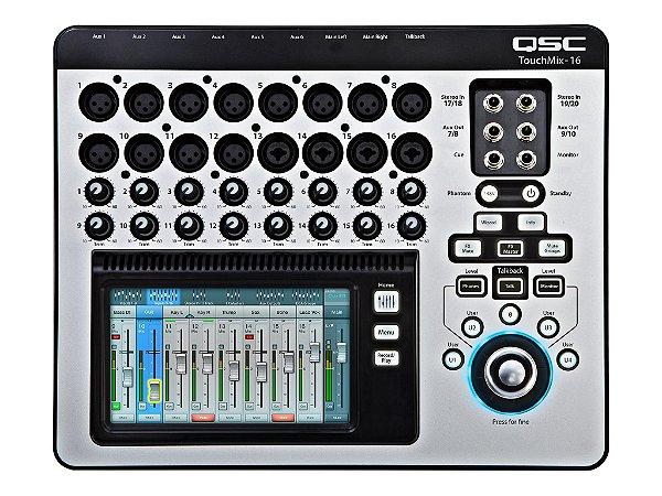 Mesa de Som Digital QSC Touch Mix 16