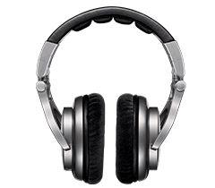 Fone de Ouvido Profissional SRH750 DJ