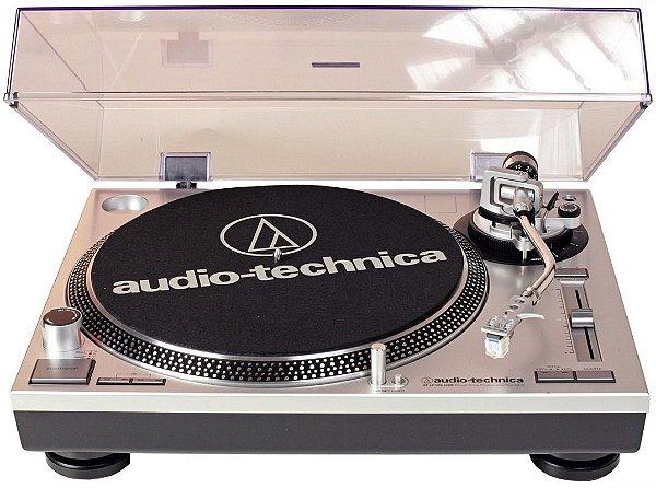 Toca-Discos Profissional Audio-Technica LP120 Direct-Drive USB com Sistema de conversão de LP