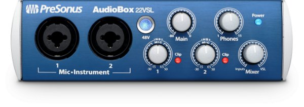 Interface Presonus AudioBox 22VSL