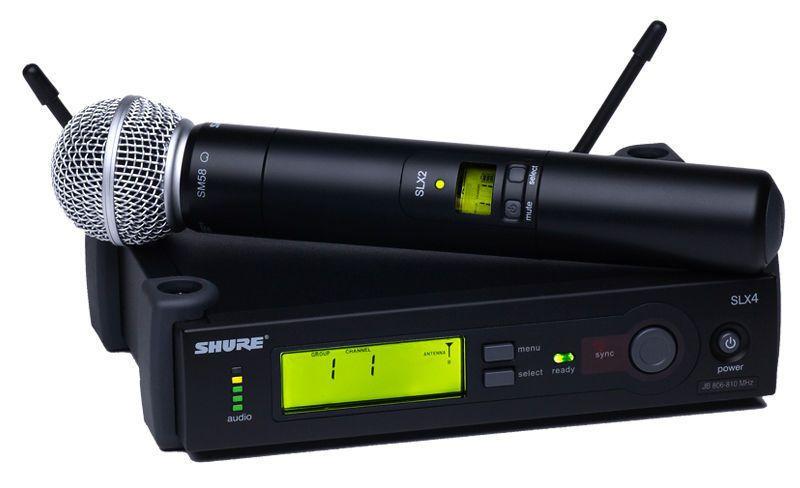 Microfone Sem Fio Shure SLX24  BETA58