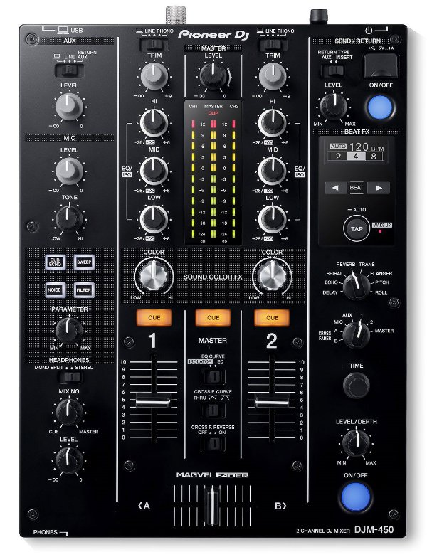 DJ Mixer Pioneer DJM 450K
